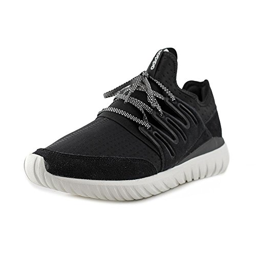 Adidas Men's Tubular Radial Running Shoes Core Black / Vintage White 9 D(M) US - Adidas M Running Shoes