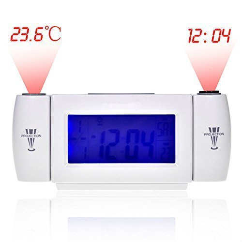 Generic Dual Projection Alarm Clock Clapping Voice Controlled Despertador Reloj Despertador CA1T by MINGYUAN