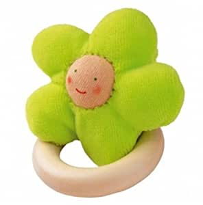 Grabbing Toy Flower Green