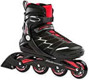 Bladerunner by Rollerblade Advantage Pro XT Men's Adult Fitness Inline Skate, Black and Red, Inline Sk