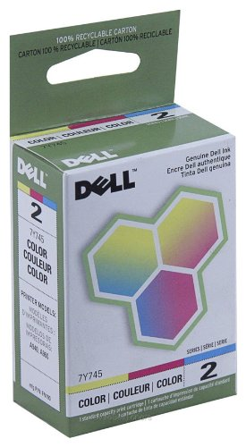 Dell 7Y745 OEM Ink - (Series 2) A940 Standard Resolution Color Ink (OEM# 310-3541 310-4633 330-0048)