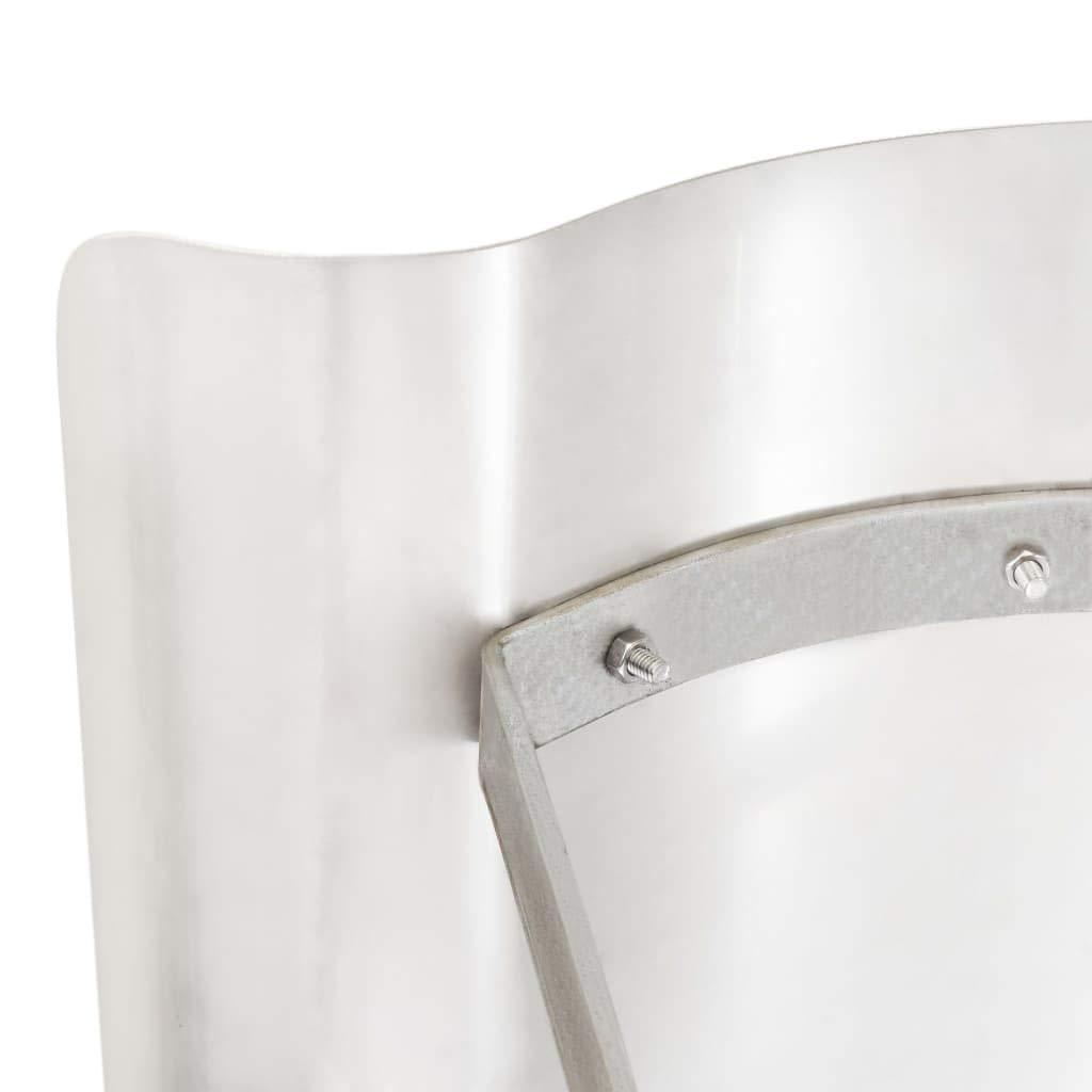 tidyard Sombrero de Chimenea Extractor de Resistente Corrosi/ón Impermeable Duradero de Acero Inoxidable Plateado 67 x 70 x 30 cm Cromado
