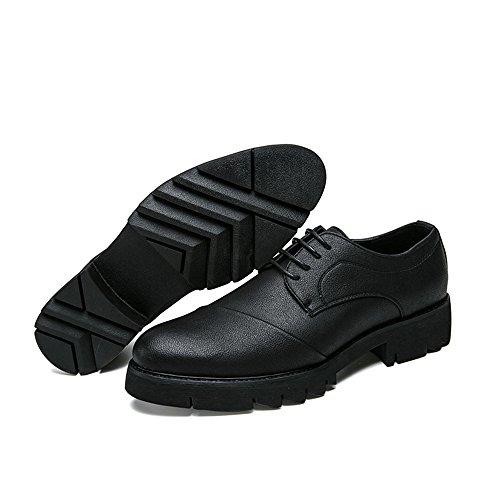 vivere camminare e Dimensione comode Jiuyue casa in 43 Uomo e comode per Men's Pelle Oxford Nero 2018 Nero classiche EU morbide shoes ideali morbide compagnia Business e Scarpe Scarpe Color FnHZzwxaFq