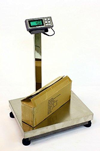 LW Measurements 500 LB x 0.1 LB 24 x 18 INCH DIGITAL SCALE PLATFORM FLOOR BENCH