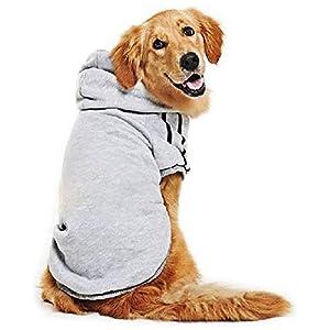Eastlion–Cálidas sudaderas adidog para perros grandes. Ropa para mascotas y camisetas para cachorros