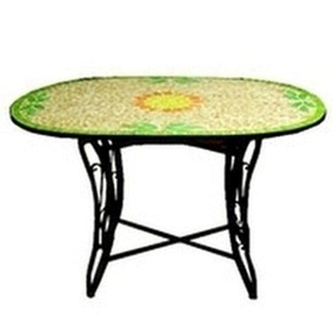 Tisch Mosaik Glass Oval 120x 80Vette 00051EAN: 8033266750510