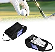 Shoe Bags – Acogedor Travel Golf Shoe Organizer Bags/Boxes - Breathable Nylon with Zipper Sports Shoes Bags fo