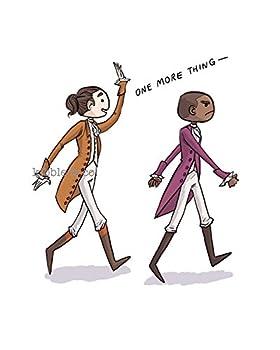 Hamilton Musical - Non-Stop Alexander Hamilton & Aaron Burr Print (8x10)
