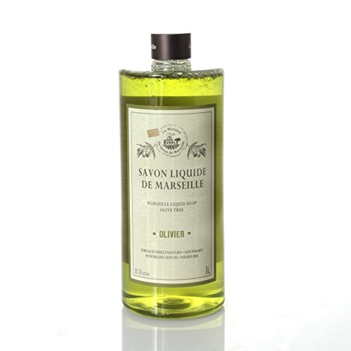 Savon Liquide de Marseille 1L Olive Oil