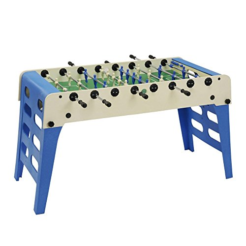 Garlando Open Air Indoor/Outdoor Weatherproof Foosball/Soccer Folding Game Table Outdoor Foosball Table