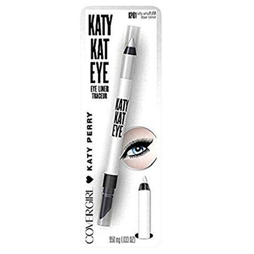 CoverGirl Katy Perry Katy Pearl Kat Eye Liner, KP01 Kitty Wh