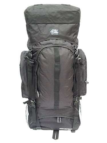 34 4700 cu. in. Tactical Hunting Camping Hiking Backpack HB001 BLACK by Nexpak   B00KYOH000