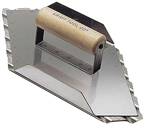 Kraft Tool CF085 Safety Ramp Hand Right Groover 3/4-Inch Spacing, 13-1/2 x 5-1/2-Inch