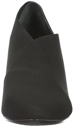 Origami Toe Heels Mid Black Women's Black Closed Nude United q4AUU