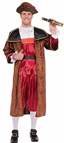 Forum Novelties Christopher Columbus Adult Costume (Standard)-Standard