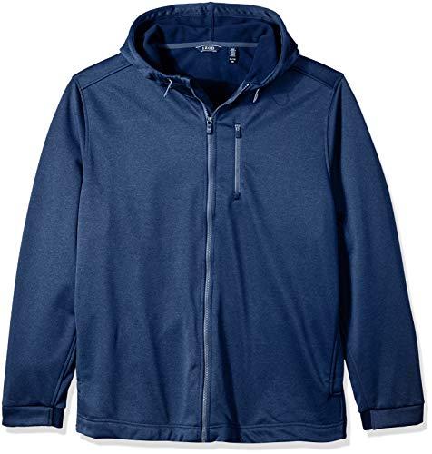 IZOD Men's Advantage Hydrashield Soft Shell Jacket, Peacoat, - Soft Advantage Jacket