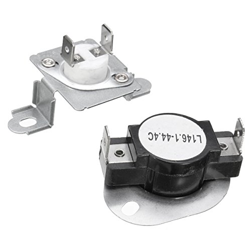 MAYITOP 279973 3391913 Dryer Thermal Cut Off Fuse & Thermostat Kit For Whirlpool Kenmore Matytag