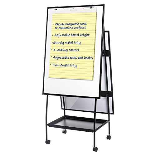 MasterVision Versatile Easel Style Dry Erase Board (EA49125016) by MasterVision