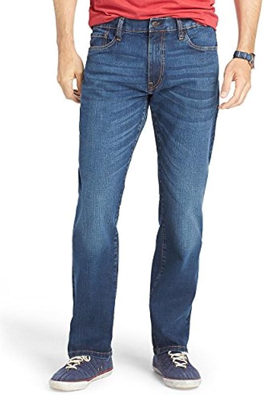 Smart Classic Męskie Jeanshose Schwarz Schwarz Gr. 38 W / 32 L, Schwarz - Dunkelblau: Odzież