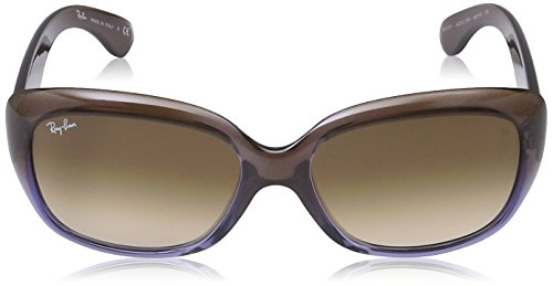 JACKIE Brown Ray Sonnenbrille 4101 Chocolate G Lilac Mg OHH Marron RB Crystal Ban 00HqBE