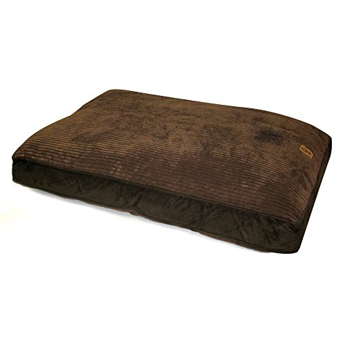 Precision Pet Gusset Floor Pillow, 30 by 40-Inch, Chocolate