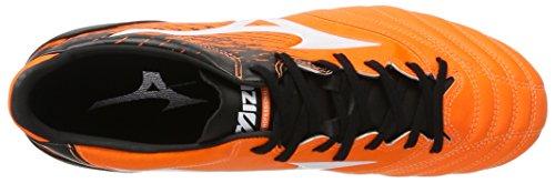 Mizuno Morelia Neo Kl MD, Scarpe da Calcio Uomo Multicolore (Orangeclownfish/White/Black)