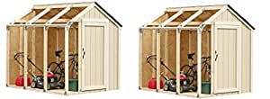 Hopkins 90192 2x4basics Shed Kit, Peak Style Roof (Pack of 2)