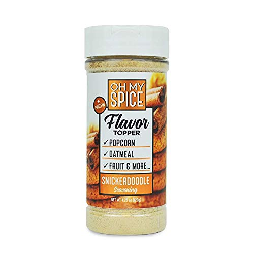 Snickerdoodle Low Sodium Seasoning, Kick Your New Years Resolution Off Right, Perfect for People Looking for Paleo, and Gluten-Free Seasoning for Their Meals