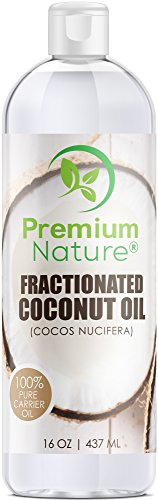 - Fractionated Coconut Oil Massage Oil - Cold Pressed Pure MCT Oil for Essential Oils Mixing Dry Skin Moisturizer Natural Carrier Baby Oil for Face Hair & Body Therapeutic Packaging May Vary 16 oz