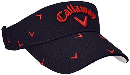 (キャロウェイ アパレル) Callaway Apparel [ レディース] 定番 ロゴ入り サンバイザー (クールマックス 採用) / 247-8990902 / 帽子 ゴルフ