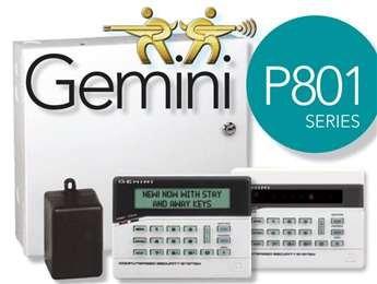 Napco Gemini P801 Security Panel, 9 Zones - Gemini Security Panel