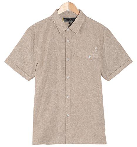 Roamers & Seekers Men's Demand Shirt, Sailcloth, Small