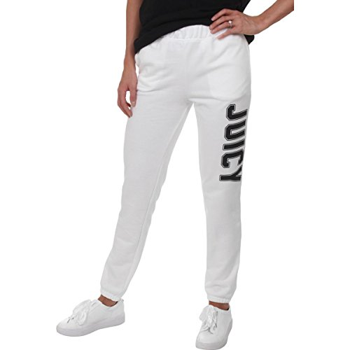 Juicy Couture Women's Pull-On Pant w/Logo White Medium 29 29 ()