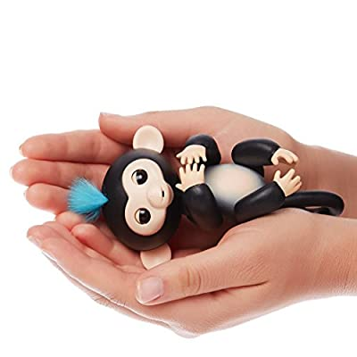 Omaky Fingerlings Interactive Baby Monkeys Smart Colorful Fingers Llings Smart Induction Toys by Omaky