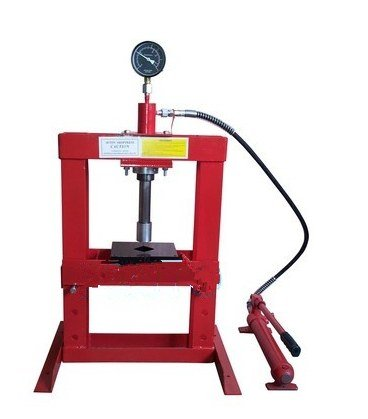 GOWE 10Ton manual Hydraulic shop press for auto truck car repairing hydraulic tool by Gowe