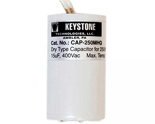 (Keystone CAP-400MHQ Metal Halide 400W 24uF 400Vac Capacitor)