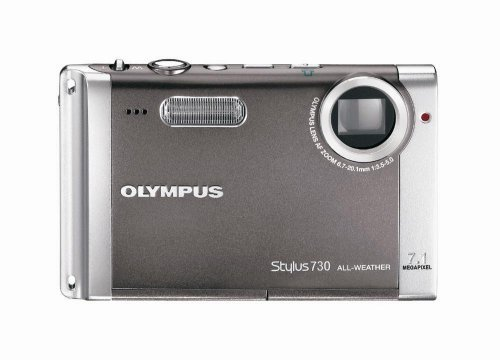 Olympus Stylus 730 7.1MP Digital Camera with Digital Imag...