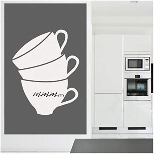 Wall Art Decal Sticker Words Wall Saying Words Removable Mural Stickers Coffee Mug for Nursery Kid -