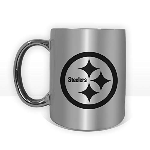 Pittsburgh Steelers Football Special Edition 11oz Coffee Mug Silver or Gold - Steelers Mug 11 Pittsburgh Oz