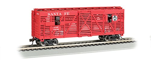 Bachmann Industries Animated Stock Santa  Freight Car, 40' ()