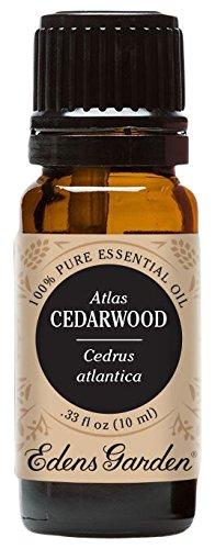 Edens Garden 100% Pure Therapeutic Grade Essential Oil, 10 mL, Cedar Wood Atlas