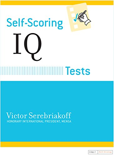 Self-Scoring IQ Tests (Self-Scoring Tests)