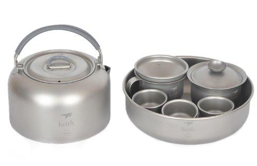 Titan Tea Cup Camping Kessel Water Kettle Reise Teekanne 365g