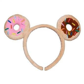 amazoncom tokidoki donutella plush doughnut sprinkles fantasy ears kawaii headband clothing