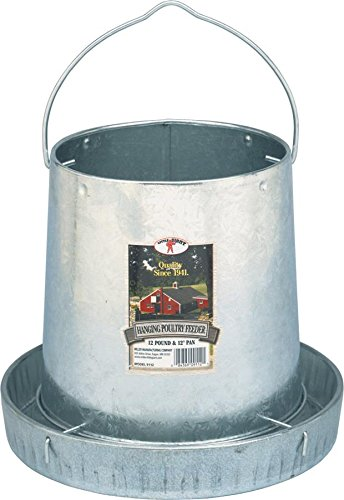 Price comparison product image Miller 9112 12lb. Galvanized Hanging Poultry Feeder