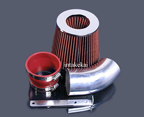 PERFORMANCE AIR INTAKE KIT + FILTER FOR 1996-1999 BMW 318 i/is/ti / Z3 1.9L L4 ENGINE (RED)