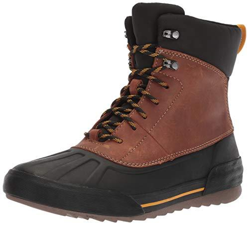- CLARKS Men's Bowman Peak Ankle Boot, Dark tan Leather, 120 M US