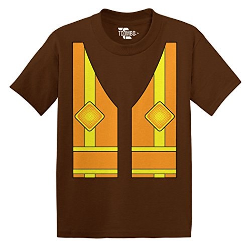 Construction Costume Toddler/Infant T-Shirt (Brown, 5T)