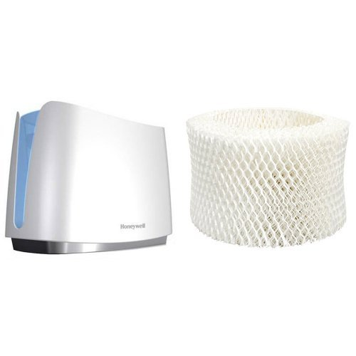 Honeywell UV Germ Free Cool Moisture Humidifier and Honeywell HAC-504AW Humidifier Replacement Filter, Filter A Bundle