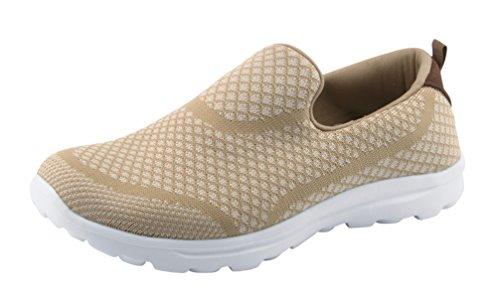 Santiro Damen Walkingschuhe Low-Top Slip-On-Sneaker.